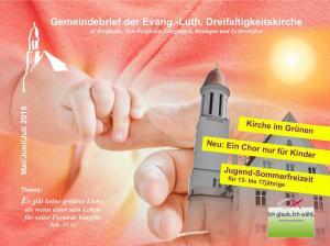Gemeindebrief - Sommer 2018